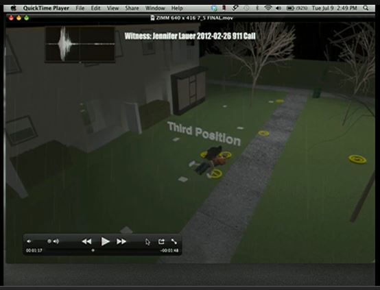 Zimmerman expert animation screenshot position of bodies