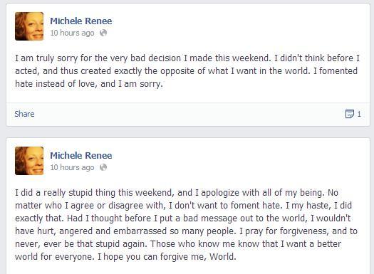 renee-vaughan-apology