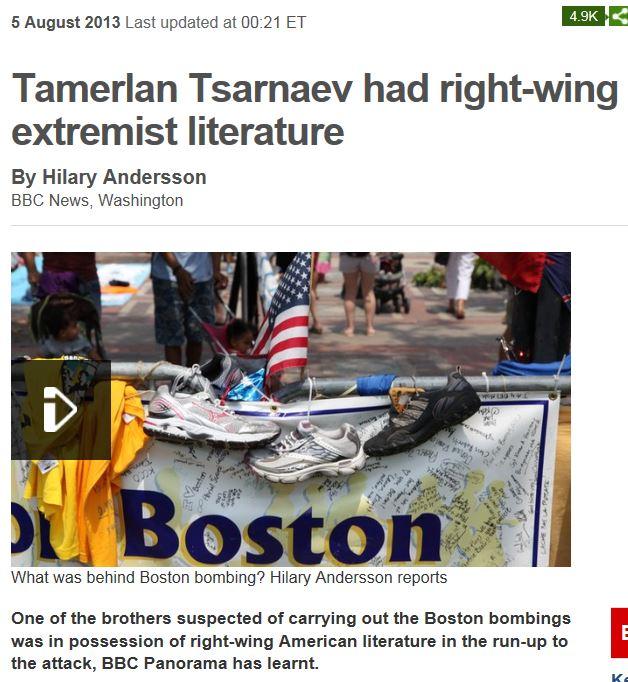 BBC Tsarnaev Right Wing