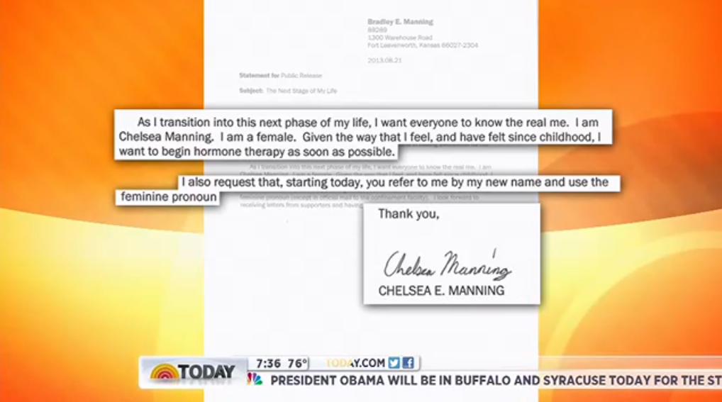 Chelsea Manning Announcement