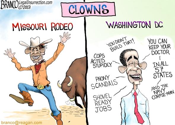 Missouri Rodeo Clown