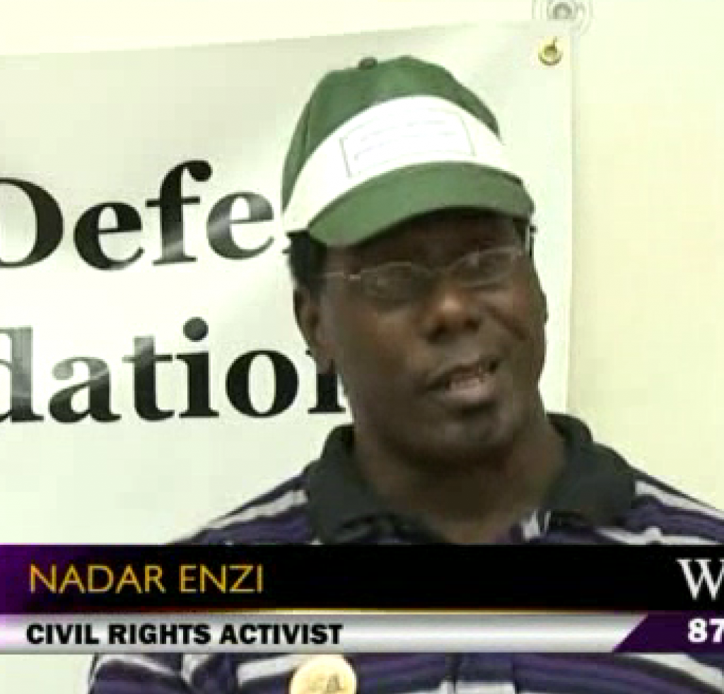Nadar Enzi, civil rights leader
