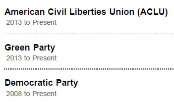 Oberlin Student Linked In Political Parties