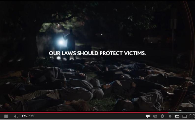Trayvon Martin Reenactment - Coalition To Stop Gun Violence screenshot
