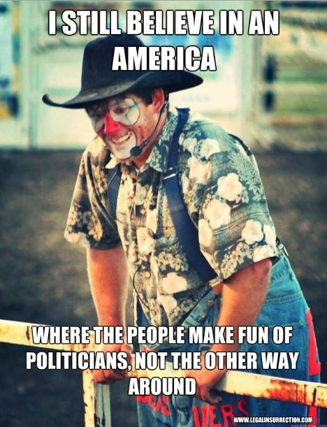 Tuffy the Rodeo Clown - I still believe in an America