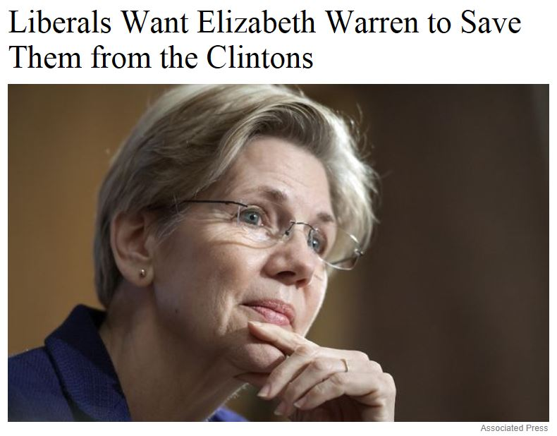 Atlantic Liberals Want Elizabeth Warren