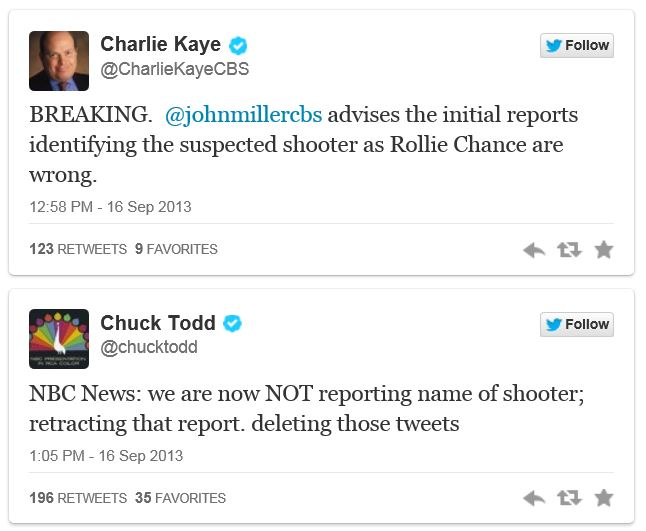 CBS NBC wrong shooter Navy Yard