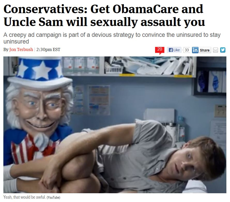 Creepy Obamacare Ad - The Week