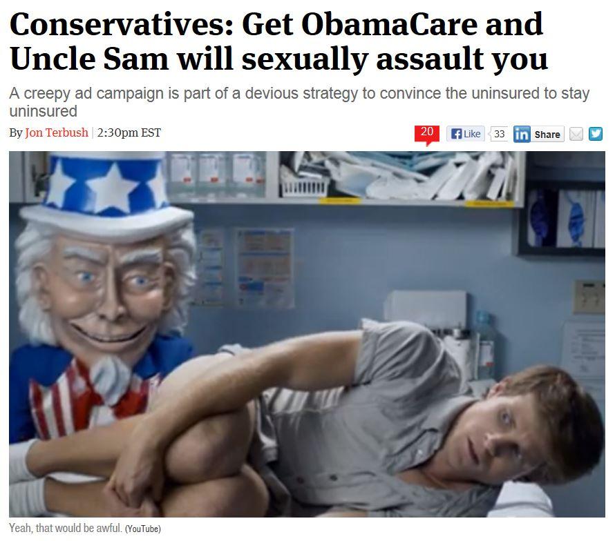 Creepy Obamacare Ad - The Week