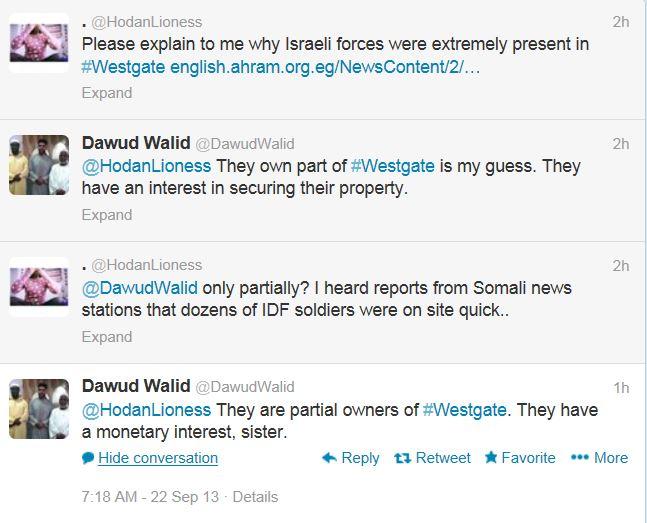 Dawud Walid Kenya Israel