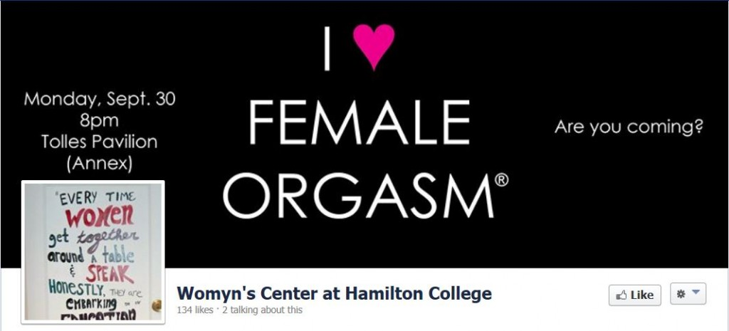 (Screen shot 9-23-2013 Hamilton College Womyns Center Facebook Page)