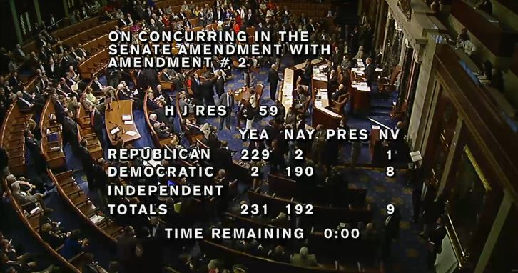 (House Vote Amendment No. 2 Delaying Obamacare for One Year)
