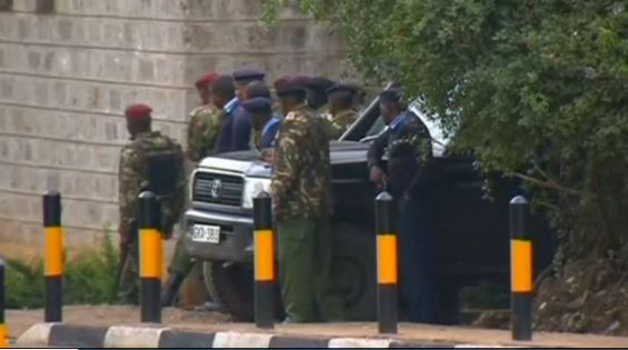 Kenya Mall Attack Soldiers