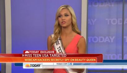 Miss Teen USA targeted