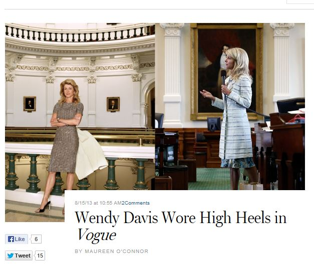 NY Mag Wendy Davis Vogue