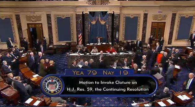Senate Cloture Vote Final Vote