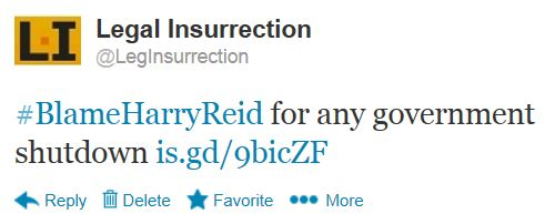 Twitter - @LegInsurrection - Blame Harry Reid