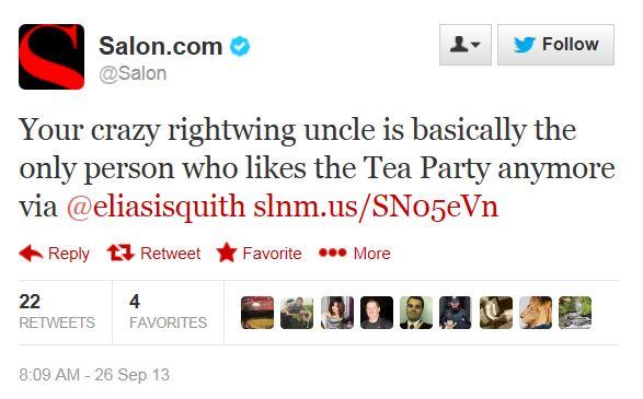 Twitter Salon.com Gallup Tea Party 9-26-2013