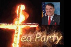 Alan Grayson Burning Cross