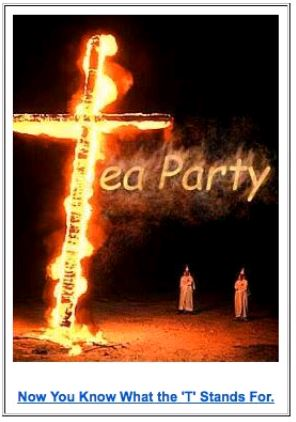 Alan Grayson Email Tea Party Burning Cross