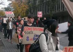 Brown U Protesters Kelly