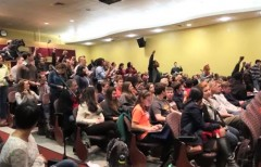 Brown U Protesters shout down Kelly