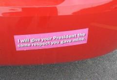Bumper Sticker - Illinois - Respect