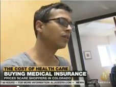 Colorado Prices scare Obamacare shoppers Al Jazeera screen shot