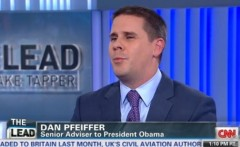 Dan Pfeiffer CNN bombs strapped to chest