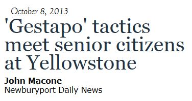 Gestapo Tactics Newburyport Daily News