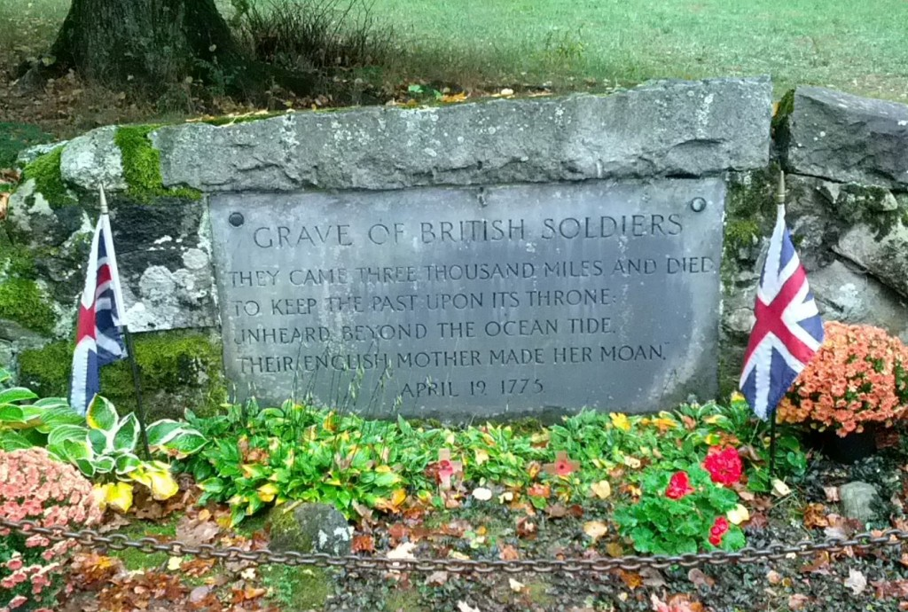 Grave of British Soldiers