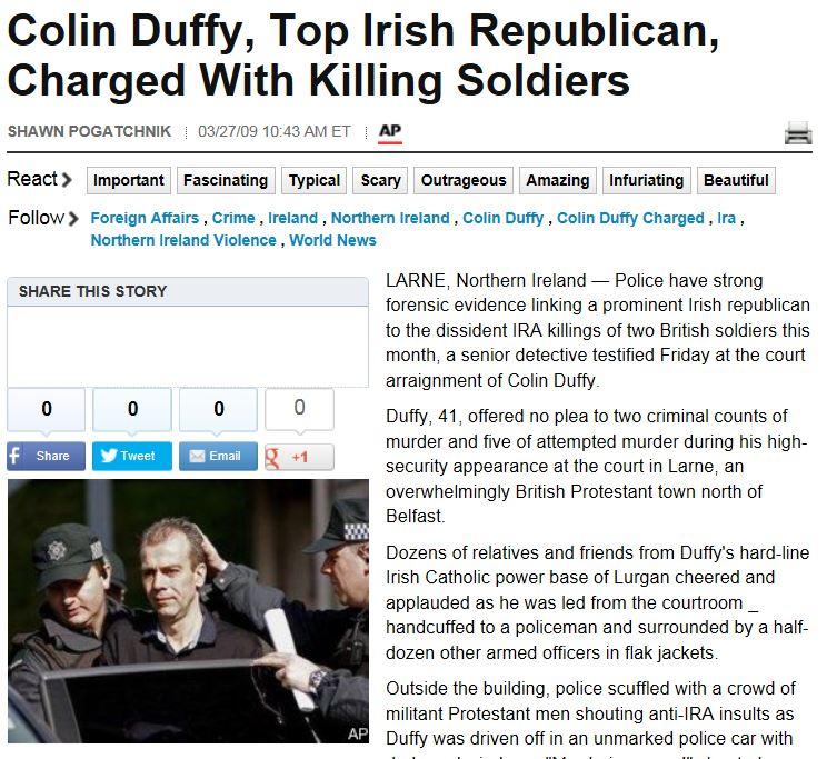 HuffPo AP Colin Duffy Arrest