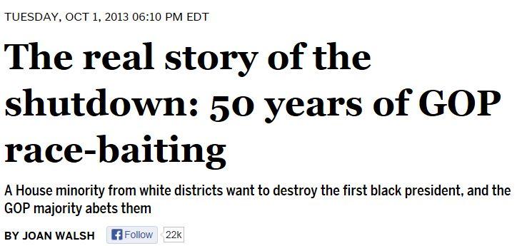 Joah Walsh The Real Story of the Shutdown