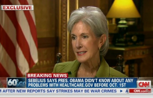 Kathleen Sebelius CNN Interview