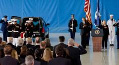 Obama Hillary Benghazi caskets