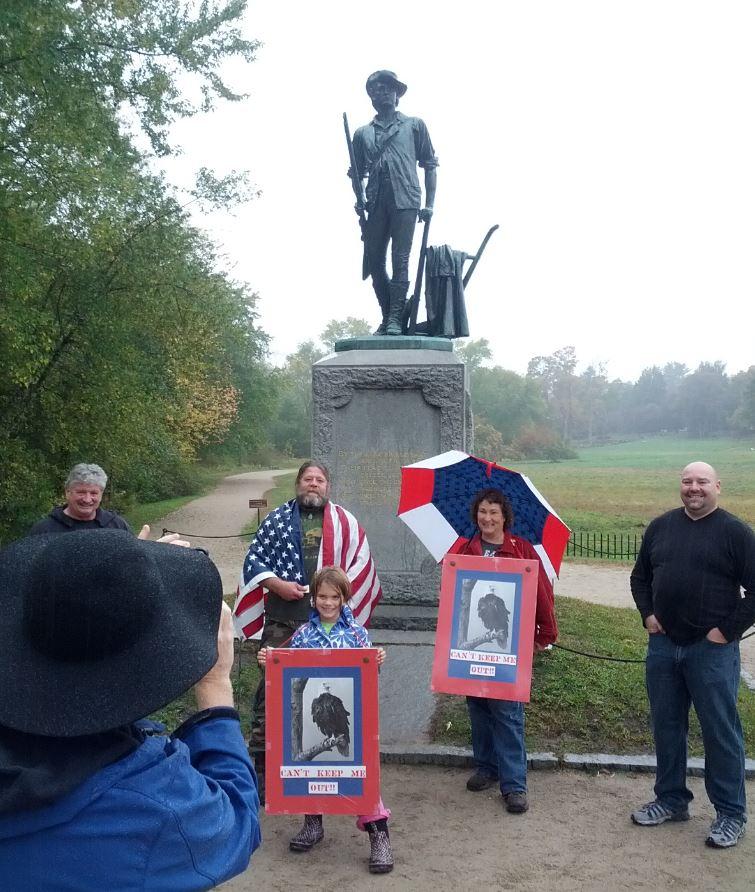 Patriot Monument at Minuteman Park