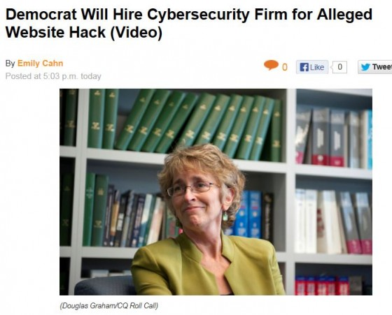 Roll Call Martha Robertson Cybersecurity Firm