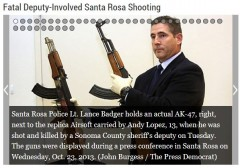Santa Rosa Shooting toy AK47