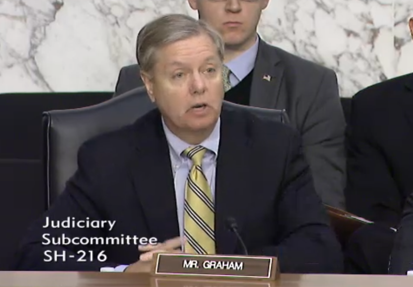 US Senator Lindsay Graham, South Carolina