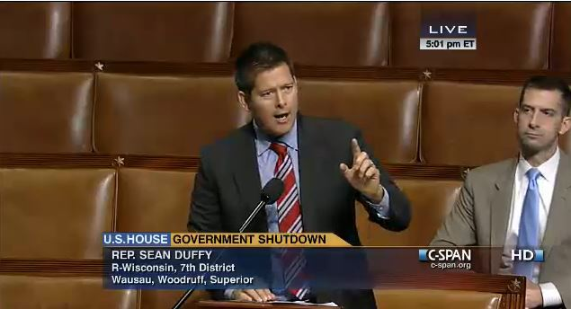 (Sean Duffy ripping into Democrats clapping to deny WIC funding)