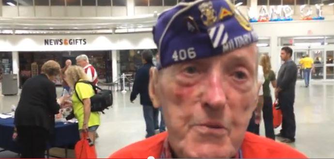 World War II Vet Syracuse Honor Flight