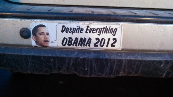Bumper Sticker - Ithaca - Despite Everything