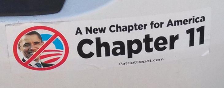 Bumper Stickers - Branson MO - Chapter 11