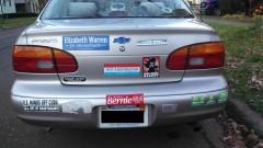Bumper Stickers - Ithaca - Liz Bernie Barack