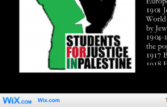 Cornell Students for Justice Palestine Wix