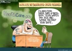 Criminal Navigators Political Cartoon