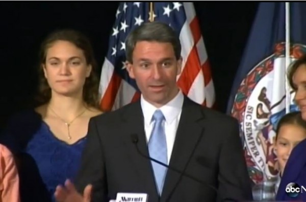 Cuccinelli Concession Speech