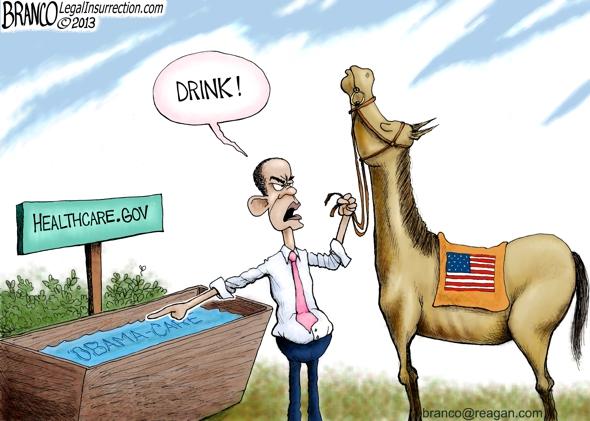 Obama Jonestown Political Cartoon