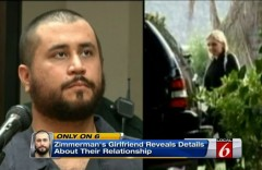 George Zimmerman Samantha Scheibe Split Screen News 6