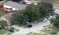 George Zimmerman domestic violence street overhead 11-18-2013